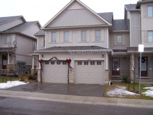 Townhouse style condominium in Kitchener