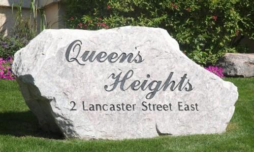 2 Lancaster St, Kitchener Lounge Address Sign