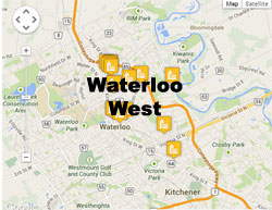 Waterloo West condos and lofts