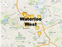 Waterloo West condos and lofts